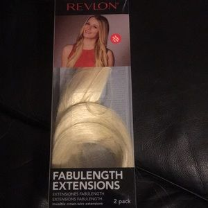 "Revlon invisible crown wire light blonde 18"" extns"